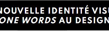 """Exemple visuel du mot """"activisme"""" : titre blanc en majuscules sur fond noir"""